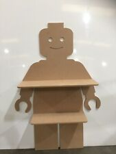Lego Man Shelf Mdf LARGE 1mtr High