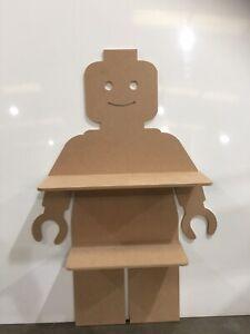 Lego Man Shelf Mdf LARGE 1mtr High