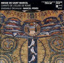 MESSE DE SAINT-MARCEL - ORGANUM , M. PERES