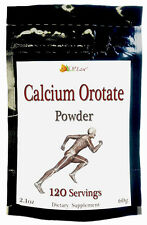 Calcium Orotate POWDER ~ 120 Servings (500mg) equal to 120 pills Capsules Tablet