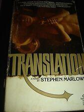 TRANSLATION by STEPHEN MARLOWE First Ballantine Books Edition 1977 Paperback