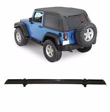 Smittybilt Bowless Soft Top and Channel Mount Kit 2007-2017 2dr Jeep Wrangler JK