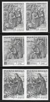 SMOM Sovereign Military Order of Malta 1969 Nativity Set IMPERF PAIRS VF-NH
