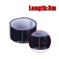Carbon Fiber Protector Sill Scuff Cover Car Door Sticker Body Anti Scratch Strip