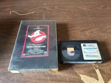 Ghostbusters Betamax Tape in Rental Case Original Movie