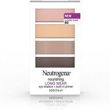 Neutrogena Nourishing Long Wear Eye Shadow + Built-In Primer #60 CLASSIC NUDE