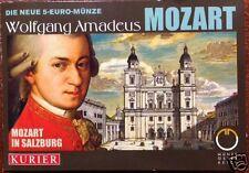 manueduc  5  EUROS AUSTRIA 2006  PLATA  2006 MOZART IN SALZBURG Cartera  Nueva