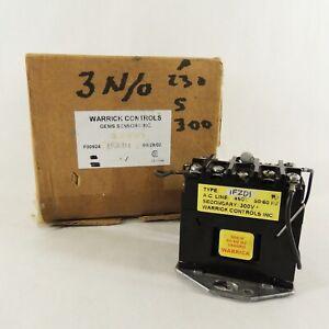 Warrick Controls Gem Sensor 1F2D1 300V Relay - Works Great!