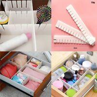 Home Necessities DIY Grid Plastic Storage Organizer Drawer Separator Divider