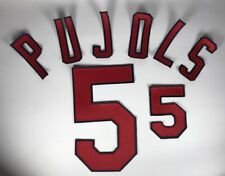 Albert Pujols St. Louis Cardinals #5 Jersey Number and Letter Kit