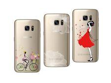 Samsung Galaxy S7 - Paquete De 3 Carcasas Gel Suave Con Estampado Disfraces