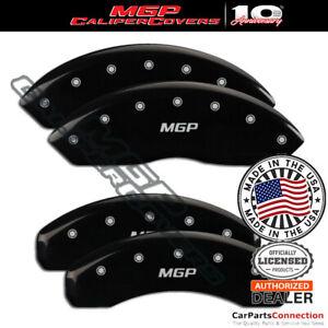 MGP Caliper Brake Cover Black 29192SMGPBK Front Rear For Porsche Boxster 11-12