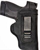 Pro Carry LT RH LH OWB IWB Leather Gun Holster For Kahr CM MK PM 9 40 45