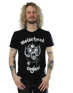 Motorhead Men's Everything Louder England T-Shirt