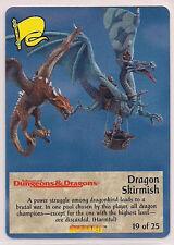 Spellfire 1996 Draconomicon Ultra Rare UR Chase Dragon Skirmish 19 of 25 NM-/Ex