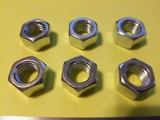 """5/8""""-11 Finished Hex Nuts Zinc Plated Steel Grade Qty 6"""