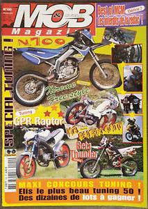 Mob Et Cyclo Magazine Motorcycle Décembre December 2004 Numéro Number 100 French