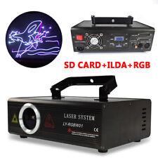 Rgb Ilda Color Animation Laser Light Dmx Dj Disco Beam Stage Effect