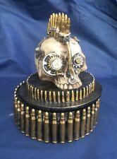 Steampunk Gears of War Skull Trinket Box Nemesis Now New Boxed Ornament