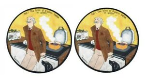 Male Bliss Round Hob Covers - Set of 2 Suitable For AGA Cookers