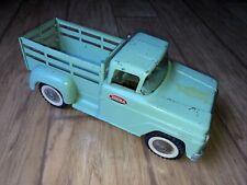 Vintage 1950s Tonka Stepside Stake Rack Pickup Farm Shop Truck Mound MN