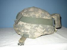US Army MSA ACH Kevlar Helmet LG w/ Goggles & NVG Mount