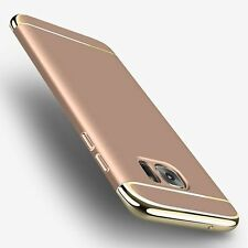Gold Ultra Slim Protective Hard Shockproof Case Cover For Samsung Galaxy S7 Edge