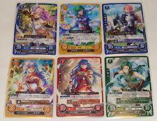 Japanese Fire Emblem 0 Cipher Tournament Promotion Pack Vol.8 : 6 Cards full set