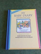 My Baby Diary: The First Five Years- a Baby Keepsake Book