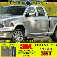 For 2009-2018 DODGE RAM 1500 2010-2018 2500 Stainless Steel Pillar Posts Trims