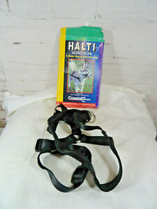 HALTI Headcollar Med dogs sz 4~black~Dr.Roger Mugford~Coastal Pet Products~NOS