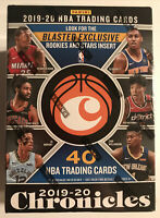 2019-20 Panini Chronicles NBA Blaster Box Basketball Trading Card 40 Cards NEW
