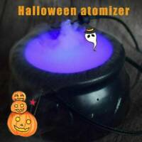 Halloween Candy Pot Hexe Kessel Eimer Ornament Rauch Nebel Party Prop