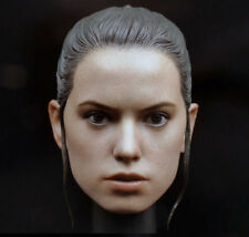 1/6 Female Head Daisy Ridley Rey Head Sculpt Model PVC Carved For Body Figure