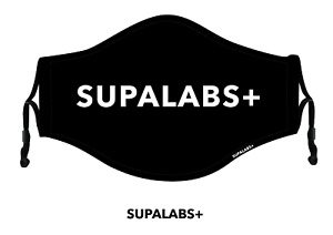 SUPALABS DEFEND Adult Face Mask Premium Covering 5 layers of protection - SUPA
