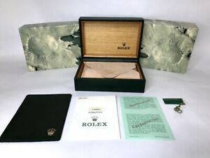 Rolex Submariner 14060 Guarantee vintage box case  genuine  / 210413442