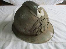 casque de pompier ancien av intérieur.