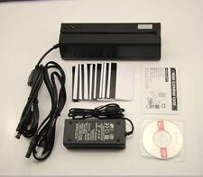 MSR606 Magstripe Card Reader Write Encoder Credit Card Swipe COM.MSRX6 MSR605