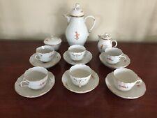 Meissen Demitasse Coffee Set - Marseille - 18 pieces -- Excellent Condition