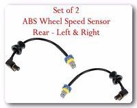 Set of 2 ABS Wheel Speed Sensor Rear Left &  Right Fits: EQUINOX TORRENT VUE
