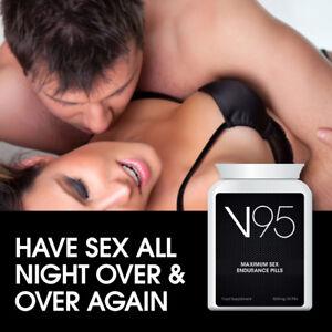V95 MAXIMUM SEX ENDURANCE PILLS KEEP UP WITH PARTNER BETTER STAMINA ENERGY