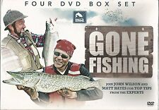 GONE FISHING John Wilson & Matt Haynes 4 DVD BOXSET NEW Rudd Carp Barbel Chub