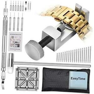 Watch Band Tool Kit - Watchband Link Remover Tool, Spring Bar Tool Set for