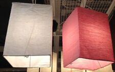 Cortina de lámpara de Ikea bosmina papel rosado nuevo
