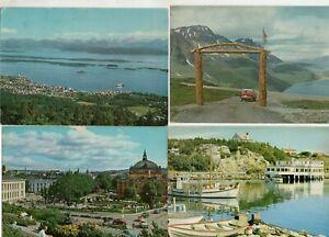 47 VINTAGE postcards:    NORWAY
