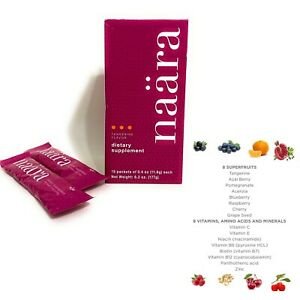 Jeunesse Naara Collagen Nutrients Skin Care Drink Top Quality - 1 Box/15packets