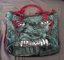 iron fist wolfbeater werewolf purse goth punk alt