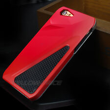 iPhone 6 Plus Case Heavy Duty Shock Proof 3 Layers Sports Car Armour Case Red