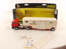 Solido n° 335 camion DAF transport animaux Cirque AMAR 1/50 neuf mint in box