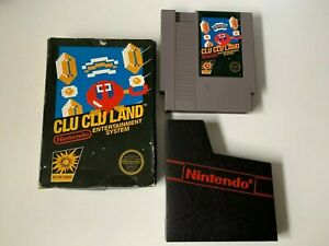 Clu Clu Land Nintendo NES Video Game 5 screw - Matte sticker / see pictures